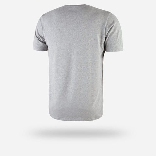 CREW TEE: HEATHER GREY
