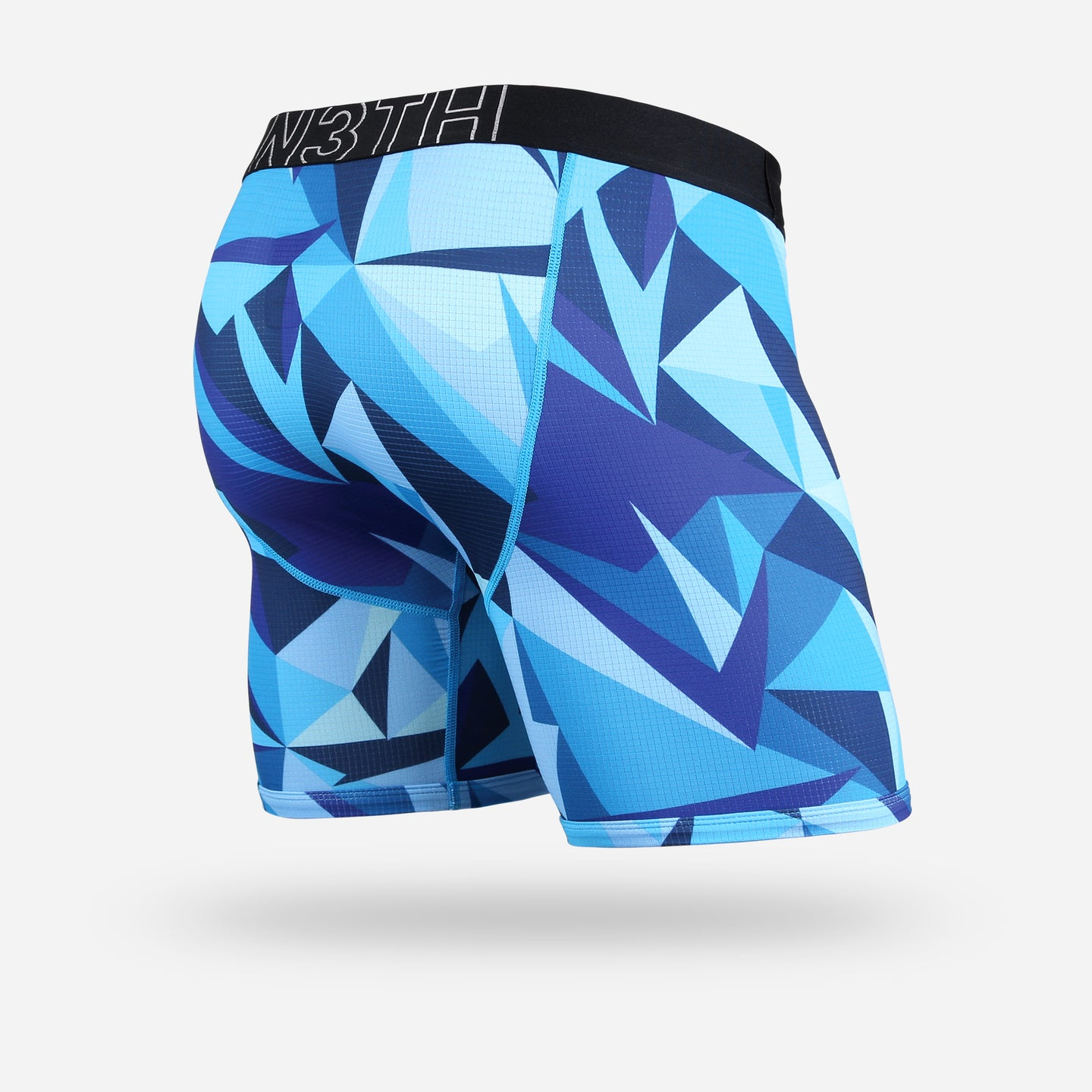 ENTOURAGE BOXER BRIEF: TECHNICOLOUR BLUE
