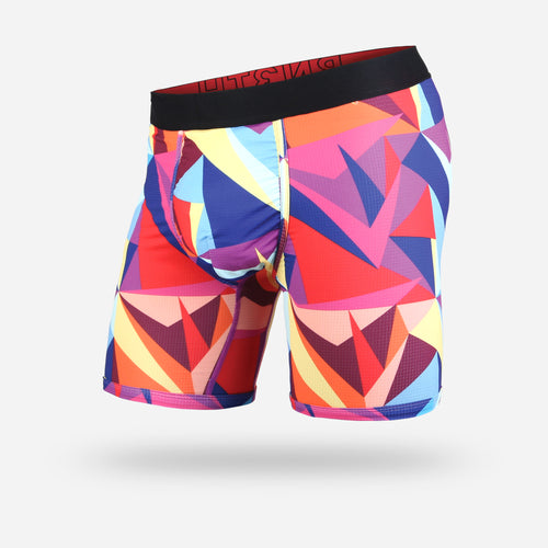ENTOURAGE BOXER BRIEF: TECHNICOLOUR MULTI