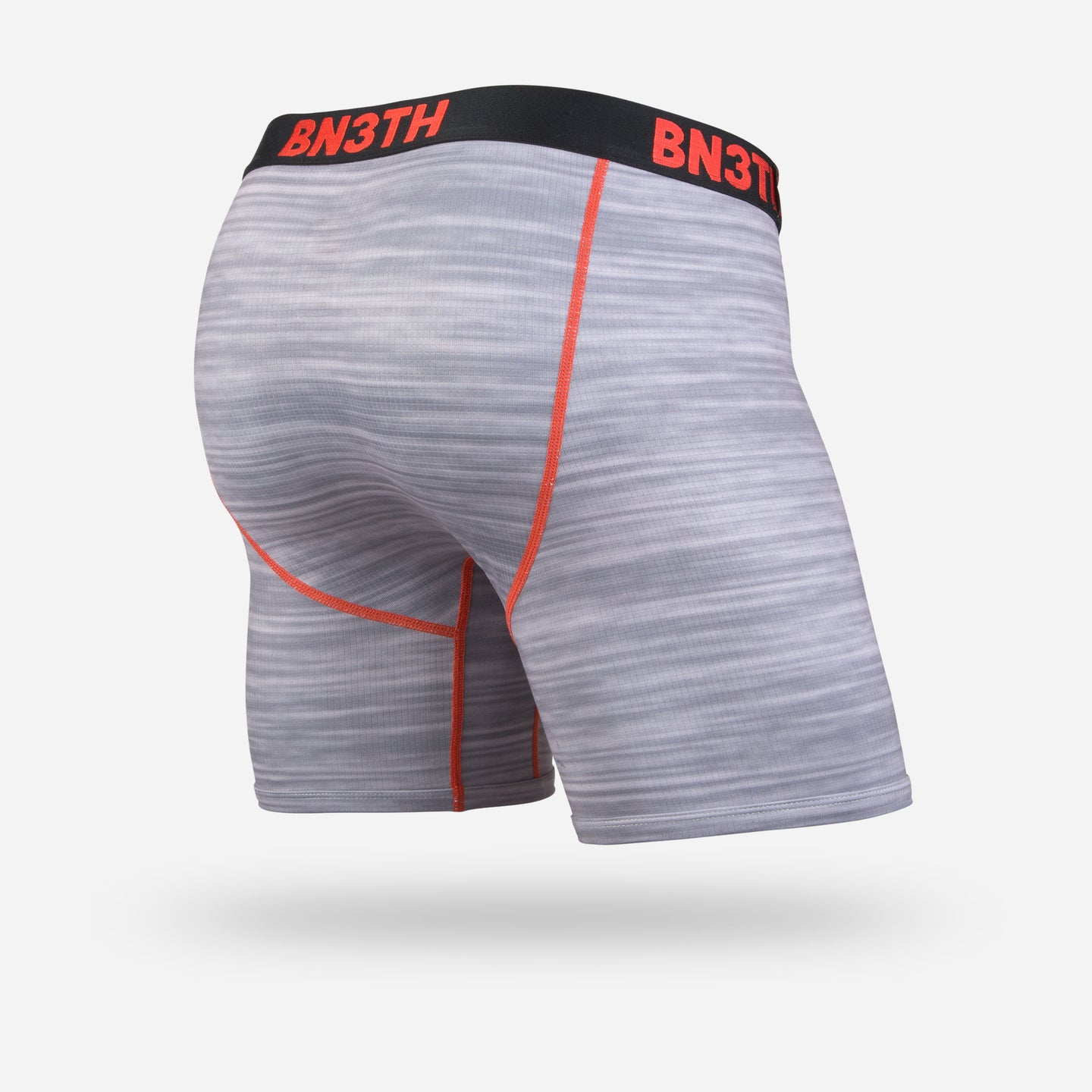PRO XT2® BOXER BRIEF: HEATHER GREY/RED