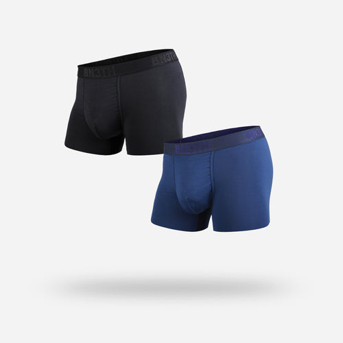 CLASSIC TRUNK: BLACK NAVY 2 PACK
