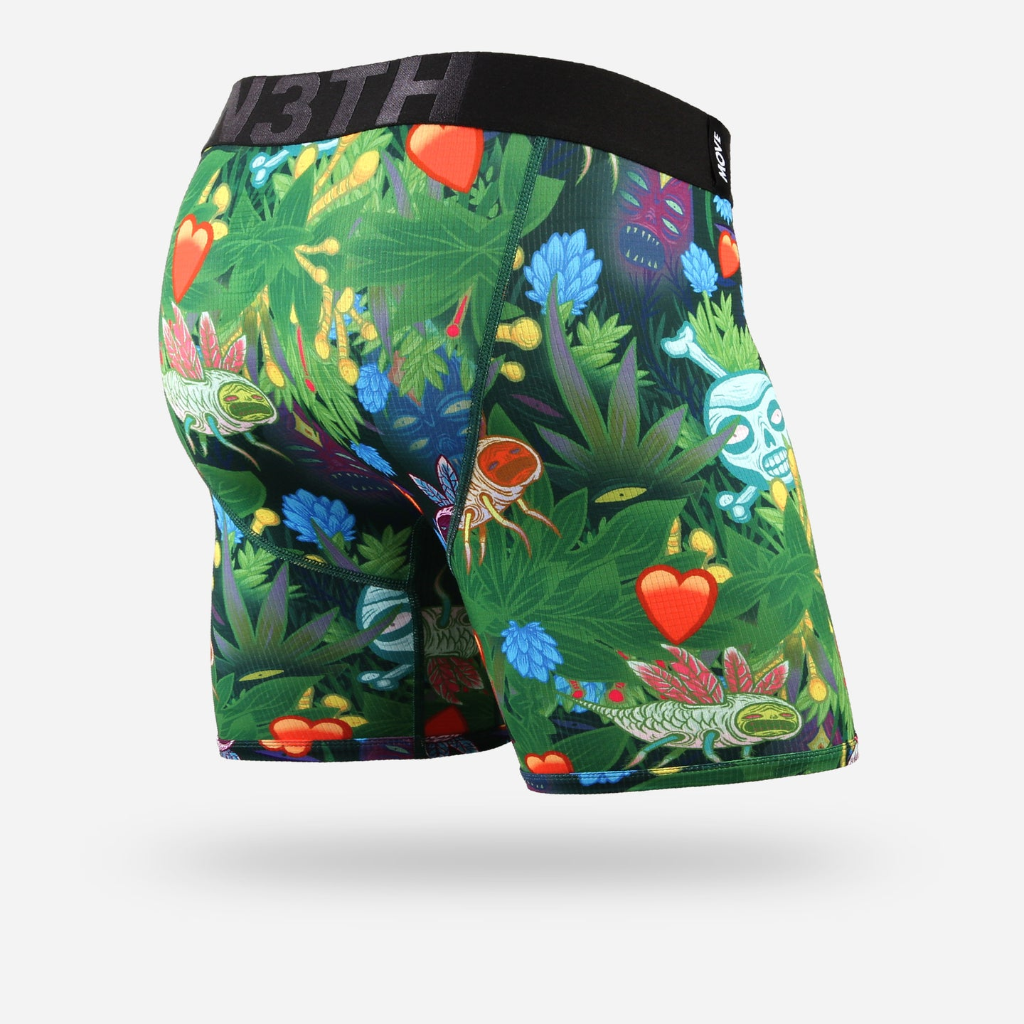 ENTOURAGE BOXER BRIEF: JUNGLE LOVE