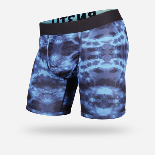 ENTOURAGE BOXER BRIEF: TIE DYE PACIFIC