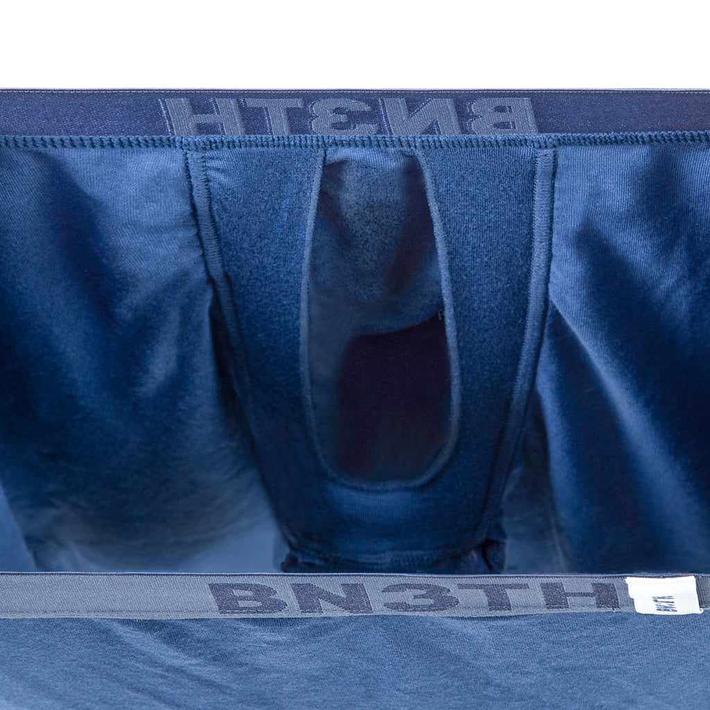 BLACK LABEL BOXER BRIEF: SLASH BLUE