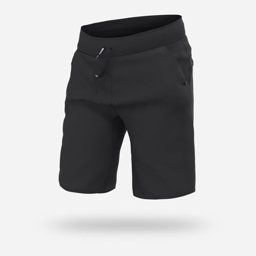 PJ SHORTS: BLACK/BLACK