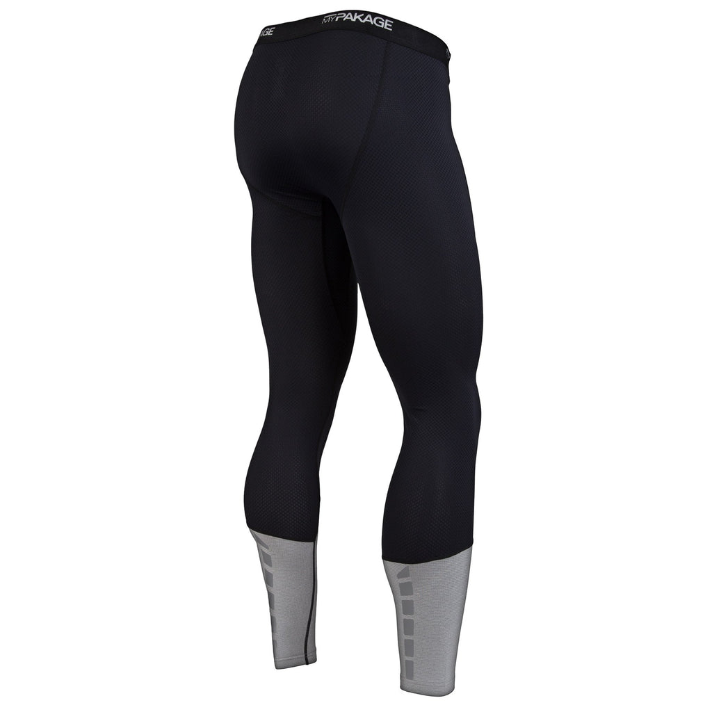 Pro Compression: Black/Heather Full Length
