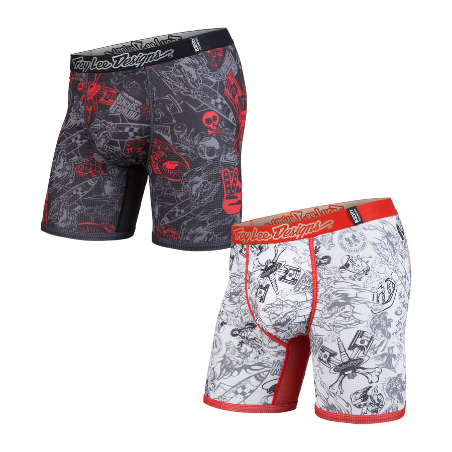 BN3TH x TROY LEE DESIGNS BOXER BRIEF: 2-PACK