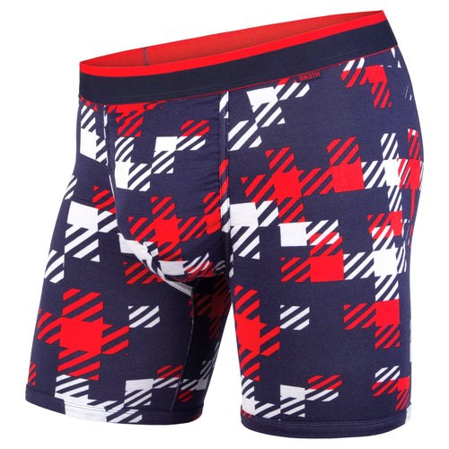 CLASSICS BOXER BRIEF: TEAM PLAID NAVY/RED | Boxer Brief