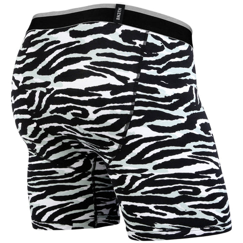CLASSICS BOXER BRIEF: TIGER WHITE/BLACK | Boxer Brief