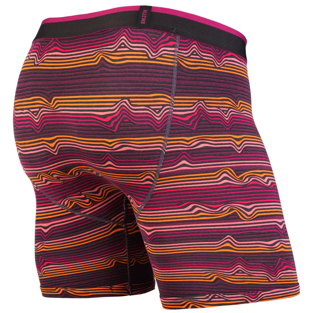 CLASSICS BOXER BRIEF: WARP STRIPE/PURPLE