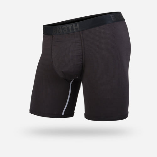PRO BOXER BRIEF: BLACK/WHITE