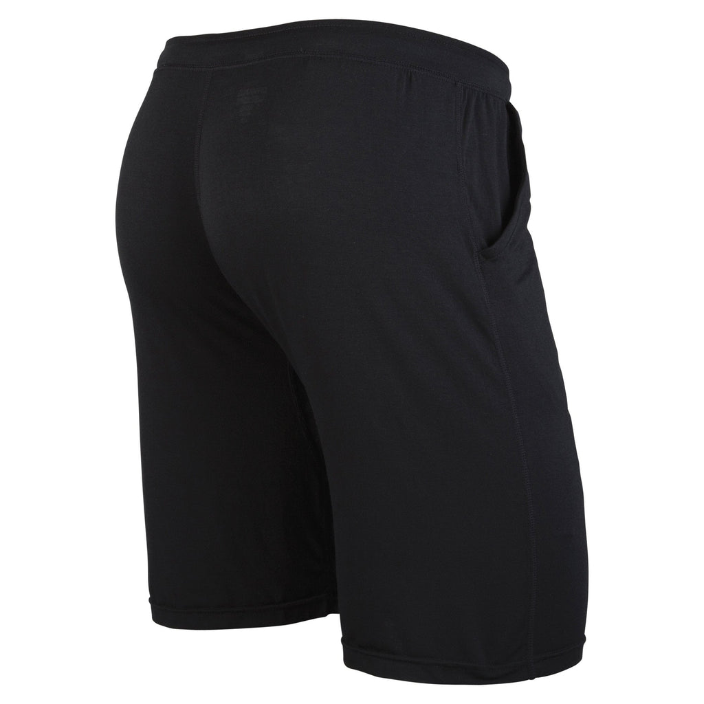 Unisex Sleepwear: Black Unisex Sleepwear Short