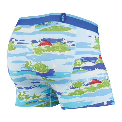 CLASSICS TRUNK: MAUI WOWI BRIGHT BLUE | Trunk Boxer Brief