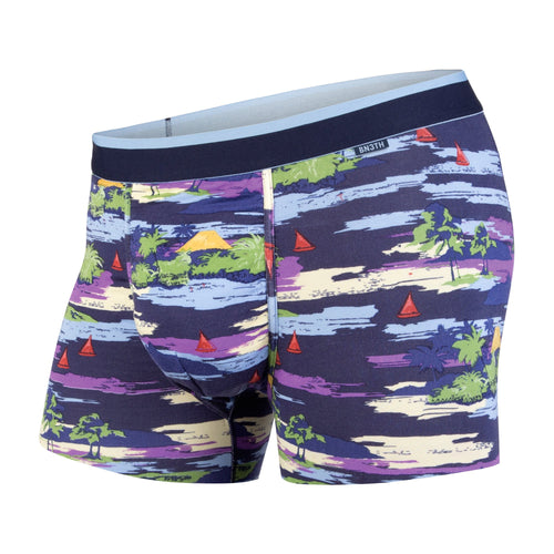CLASSICS TRUNK: MAUI WOWI NAVY | Trunk Boxer Brief