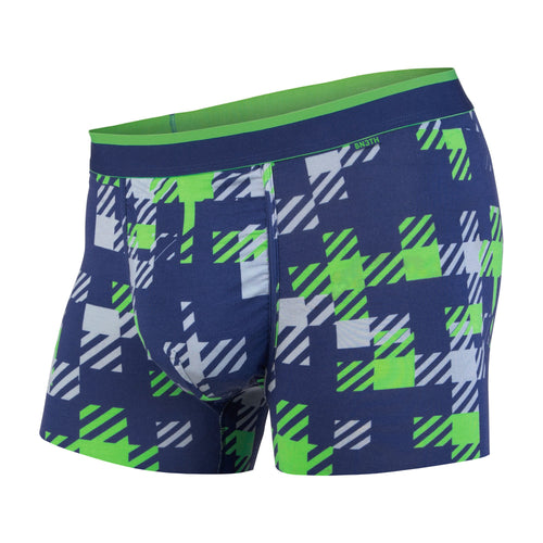CLASSICS TRUNK: TEAM PLAID NAVY/GREEN | Trunk Boxer Brief