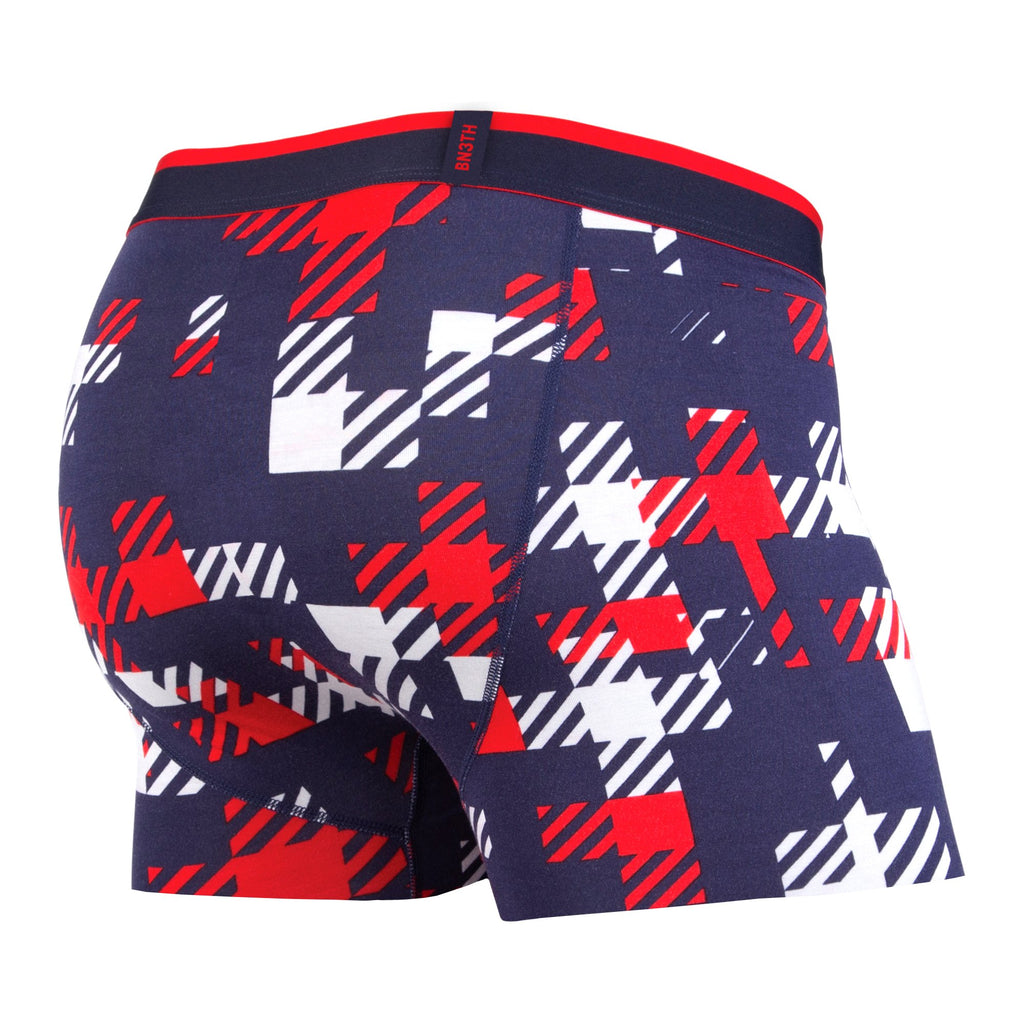 CLASSICS TRUNK: TEAM PLAID NAVY/RED