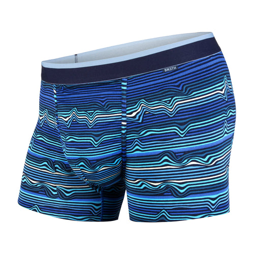 CLASSICS TRUNK: WARP STRIPE/BLUE | Trunk Boxer Brief