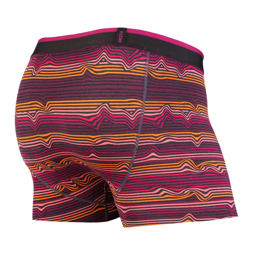CLASSICS TRUNK: WARP STRIPE/PURPLE | Trunk Boxer Brief