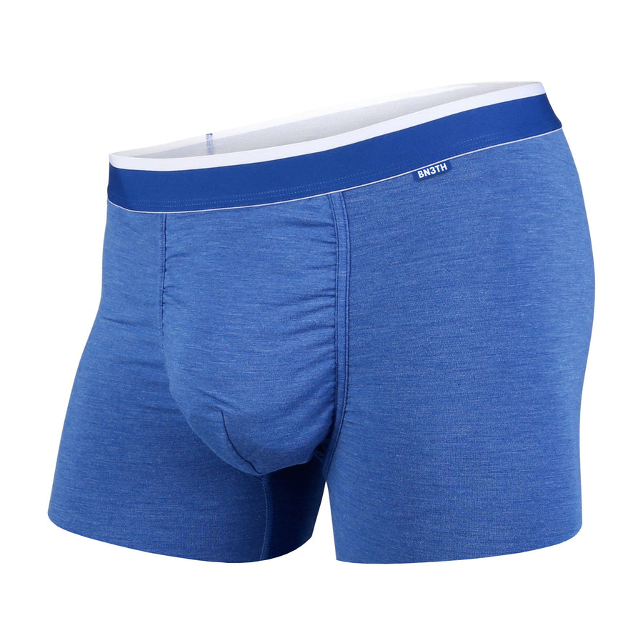 CLASSICS TRUNK: BLUE HEATHER/WHITE | Trunk Boxer Brief