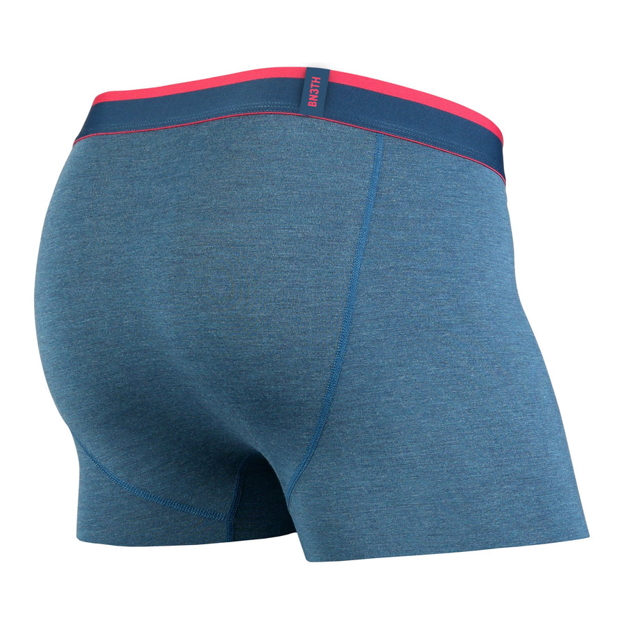 CLASSICS TRUNK: INK HEATHER/PINK | Trunk Boxer Brief