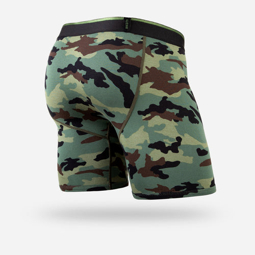 CLASSIC BOXER BRIEF: CAMO GREEN