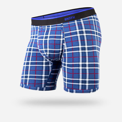 CLASSIC BOXER BRIEF: FIRESIDE PLAID NAVY