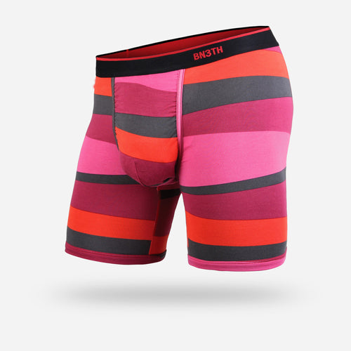 CLASSIC BOXER BRIEF: FUNKY STRIPE RED