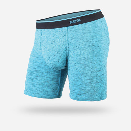 CLASSIC BOXER BRIEF: HEATHER TEAL
