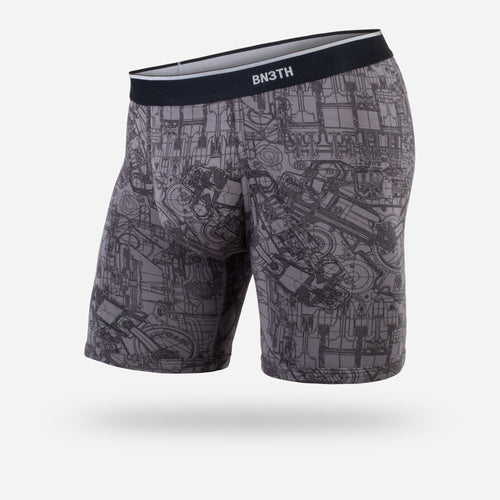 CLASSIC BOXER BRIEF: MECHANICS GREY