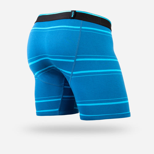 CLASSIC BOXER BRIEF: NICE STRIPE TEAL
