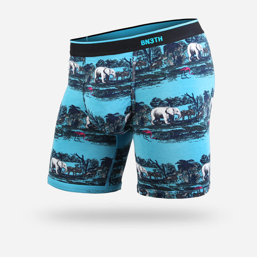 CLASSIC BOXER BRIEF: SAVANNAH TEAL