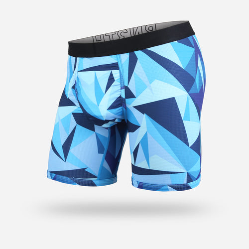 ENTOURAGE BOXER BRIEF: TECHNICOLOR BLUE