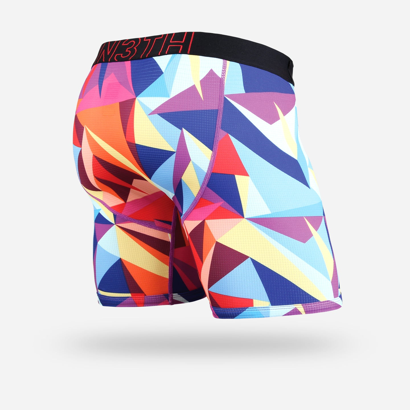 ENTOURAGE BOXER BRIEF: TECHNICOLOR MULTI