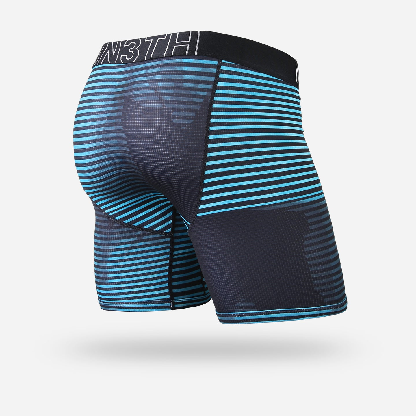 ENTOURAGE BOXER BRIEF: X-RAY TEAL