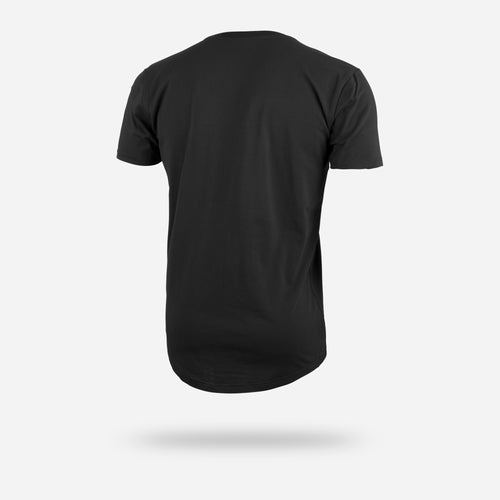 SELECT SHORT SLEEVE TEE: BLACK/BLACK