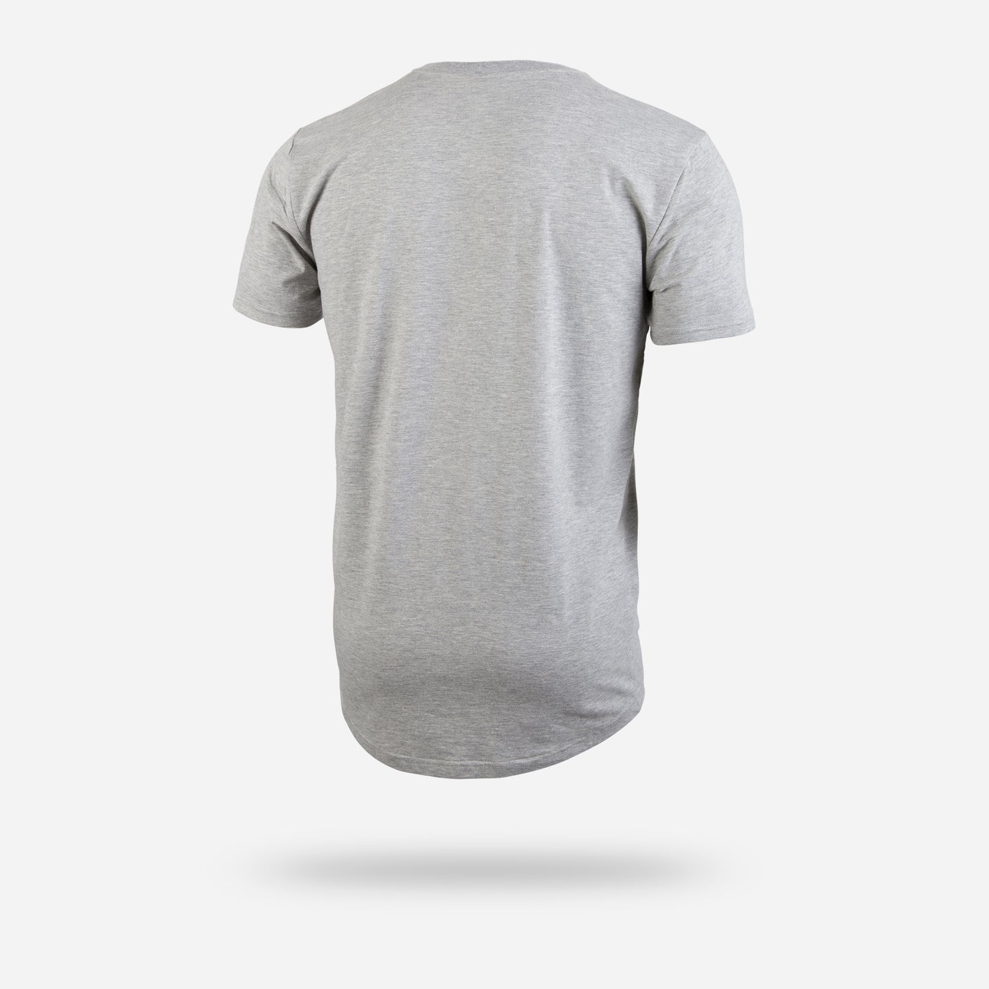 SELECT SHORT SLEEVE TEE: HEATHER/GREY