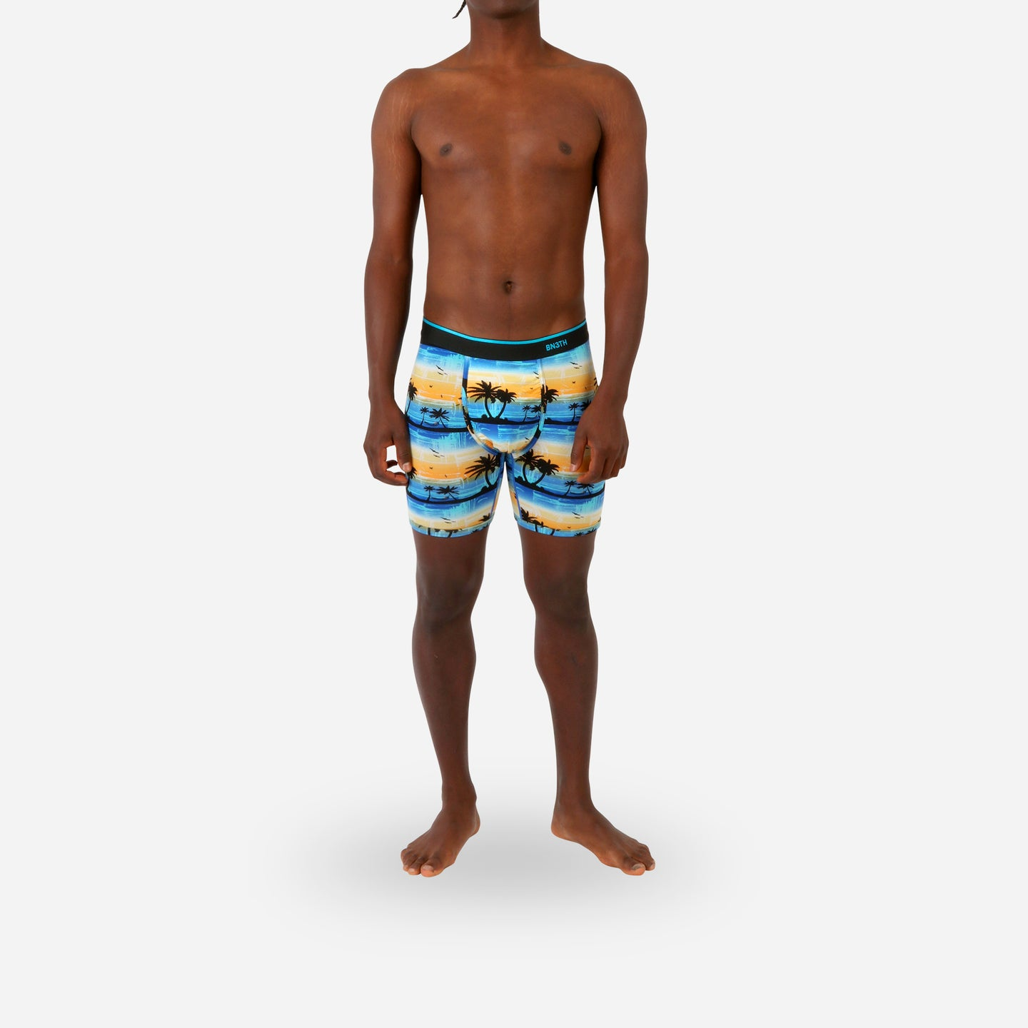 CLASSIC BOXER BRIEF WITH FLY: HORIZON PLAYA