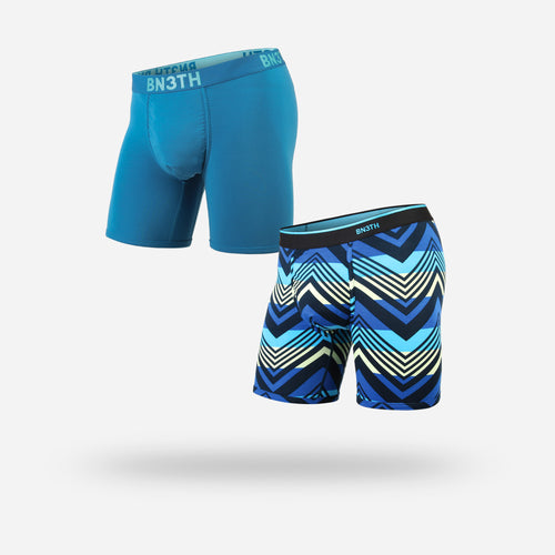 CLASSIC BOXER BRIEF: AZTEC CANNON/YOSEMITE