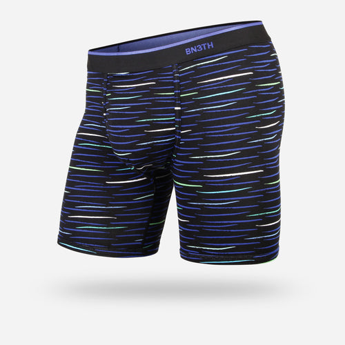 CLASSIC BOXER BRIEF: DASHED PACIFIC