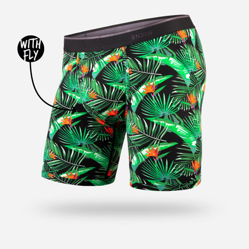 CLASSIC BOXER BRIEF WITH FLY: PARADISE BALI