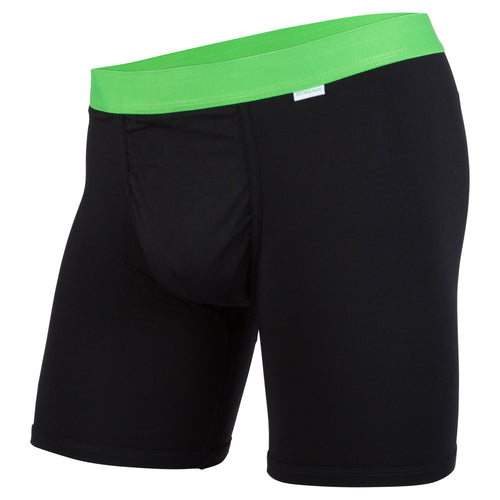 Weekday Boxer Brief: Black/Green