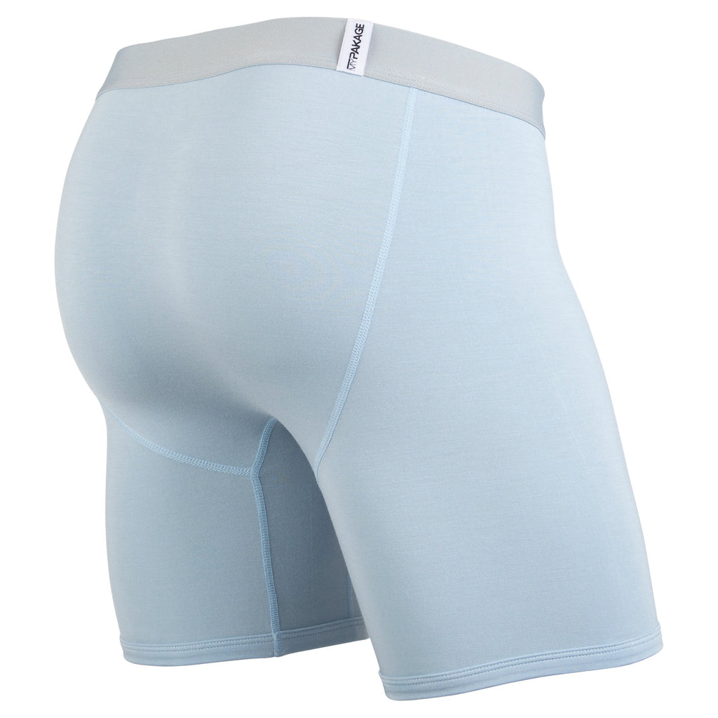 Weekday Boxer Brief: Cloud/Tangerine