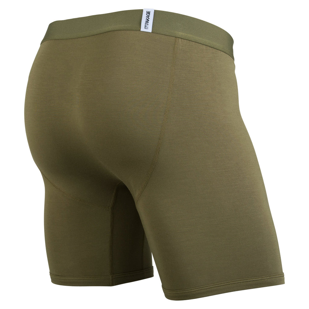 Weekday Boxer Brief: Olive/Honeycomb