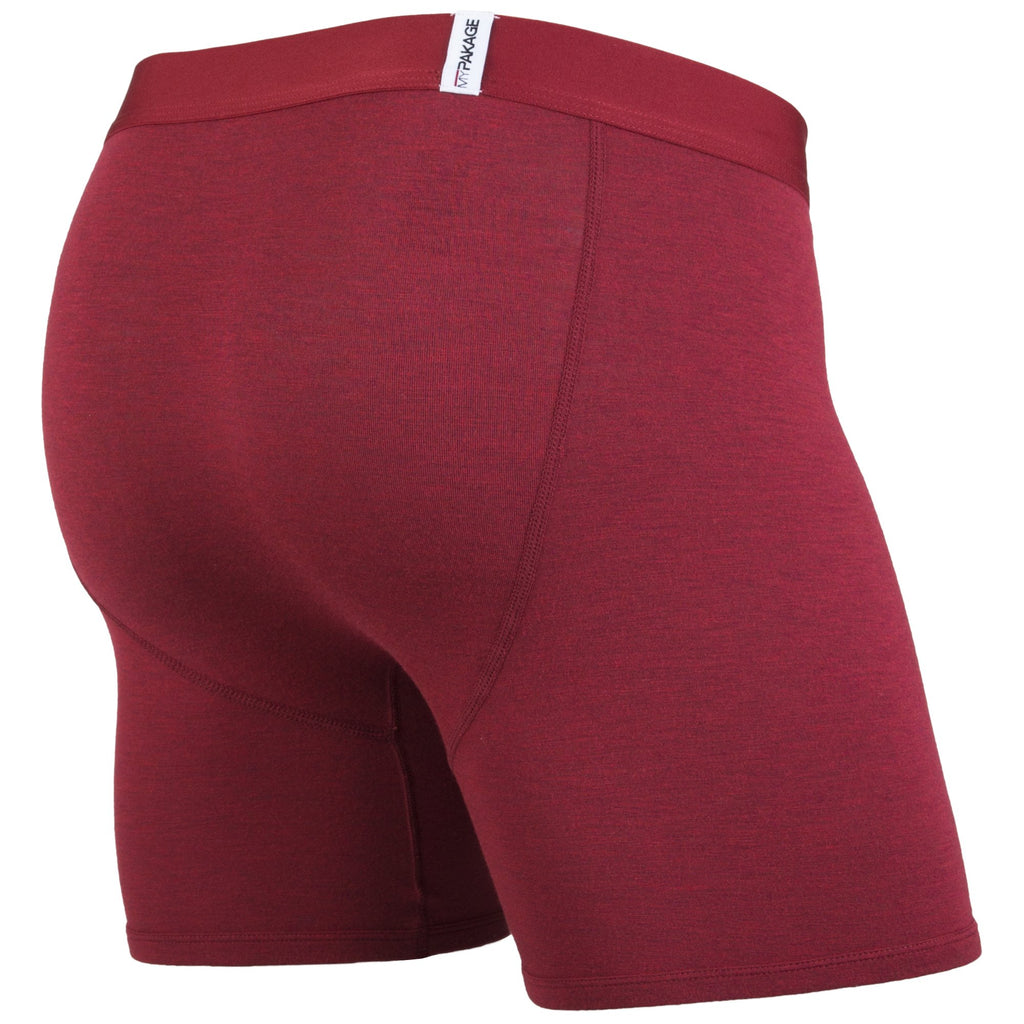 Weekday Boxer Brief: Heather Crimson