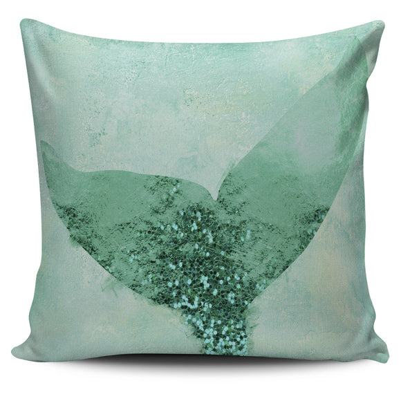 A Mermaid's Tail III Pillow Cover
