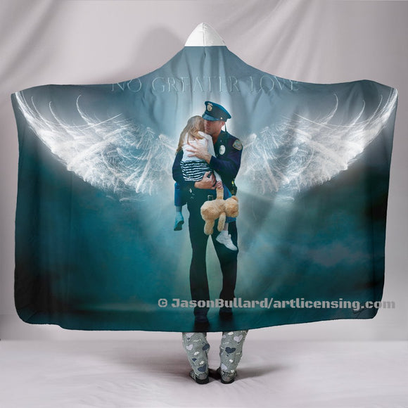 Angel Rescue Hooded Blanket by Trend Matrix