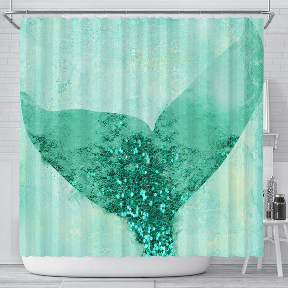 A Mermaid's Tail III Shower Curtain