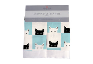 Peek-A-Boo Cats Newcastle Blankie