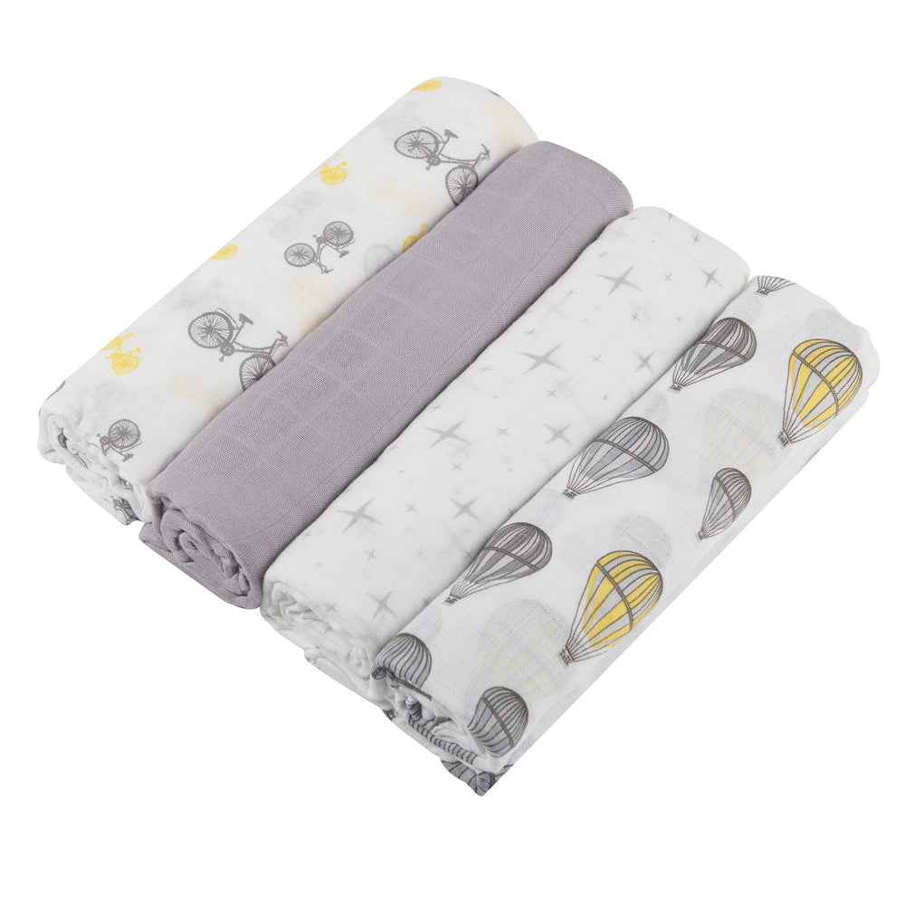 Traveler Swaddle Four Pack