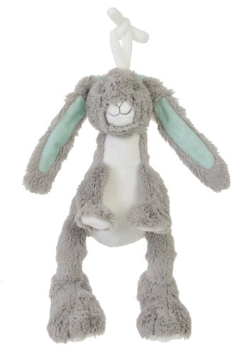Grey Rabbit Twine no. 1 Plush Animal by Happy Horse